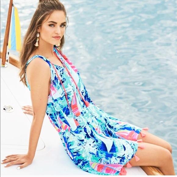 c01b9b69fd0dd3 Lilly Pulitzer Dresses | Nwt Roxi Dress Hey Bay Bay | Poshmark